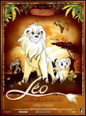"""Léo, roi de la jungle"" movie poster"
